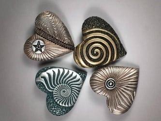 Heart by Ron Lehocky. Tools; Kor Tools 5cm Panes
