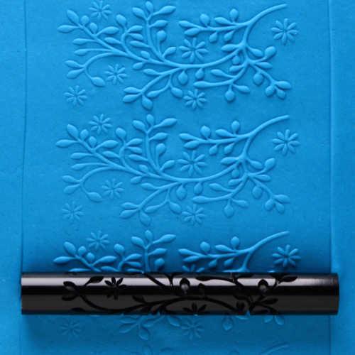 Flowering Clematis Texture Roller