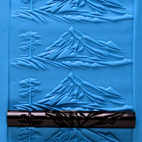Lone Mountain Peak Texture Roller