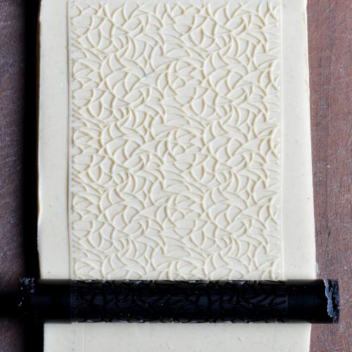 Fine Line Winter Frost Texture Roller
