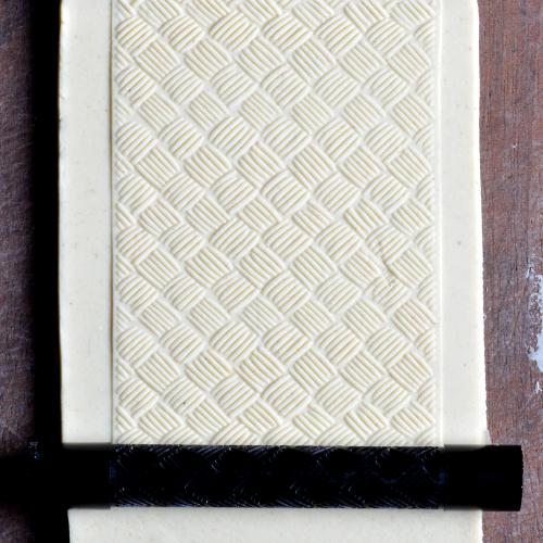Fine Line Basketweave Texture Roller
