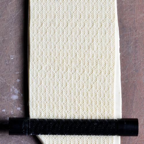 Fine Line Leaf Pattern Texture Roller