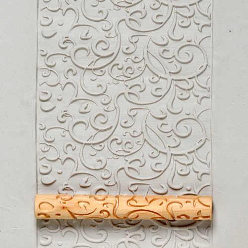 Curlicue Texture Roller