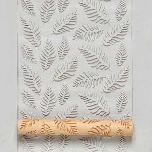 Fern Leaf Texture Roller