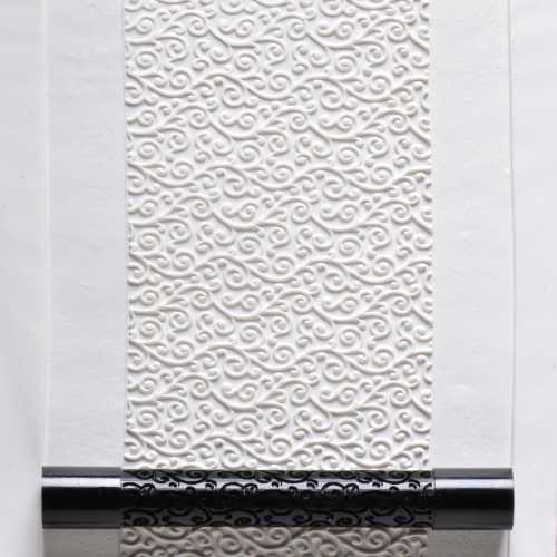 Fine Line Curlicue Texture Roller